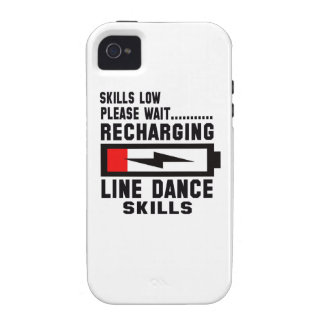 Peace Love And Line Dance Vibe iPhone 4 Cover