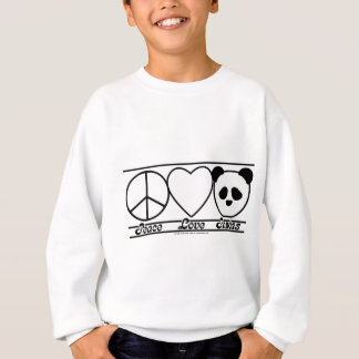 Peace Love and Pandas Sweatshirt