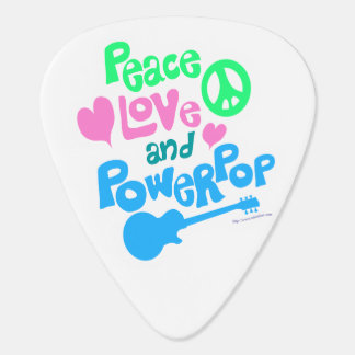 Peace Love and Power Pop Plectrum