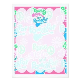Peace, Love and Powerpop Card