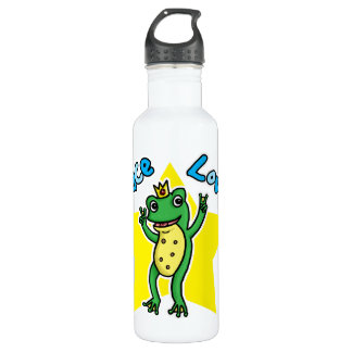 Peace love and Princes' soul frog prince 710 Ml Water Bottle