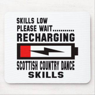 Peace Love And Scottish Country Dance Mouse Pad