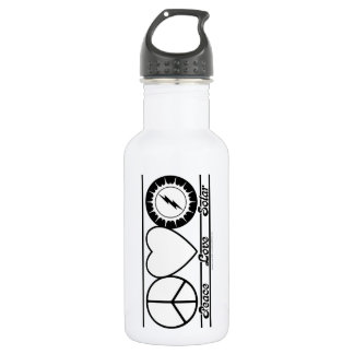 Peace Love and Solar 532 Ml Water Bottle