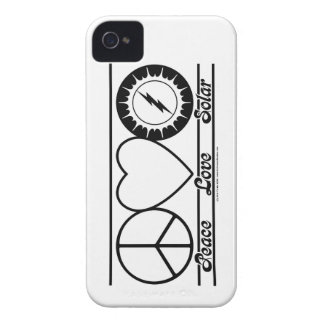 Peace Love and Solar iPhone 4 Covers