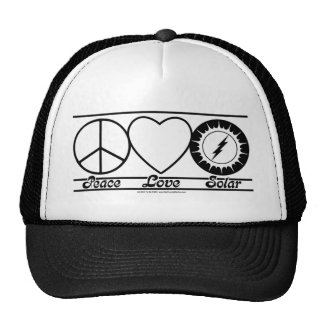 Peace Love and Solar Hats