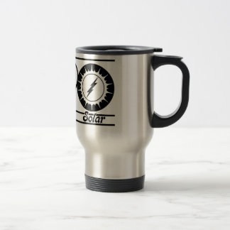 Peace Love and Solar Stainless Steel Travel Mug