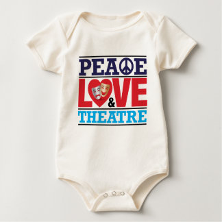 Peace, Love and Theatre Shirt