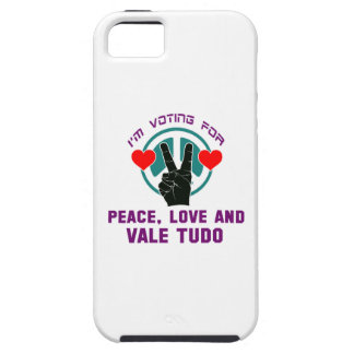 Peace Love And Vale Tudo. iPhone 5 Cases