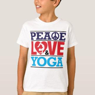 Peace, Love and Yoga Shirt