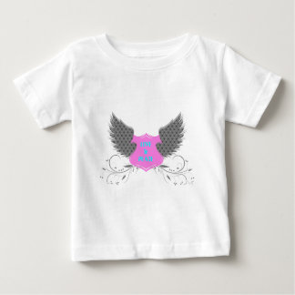 Peace Love Angel Wings Design Baby T-shirt