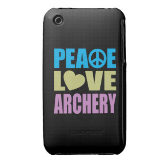 Peace Love Archery iPhone 3 Cover