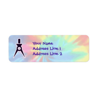 Peace, Love, Architects Return Address Label