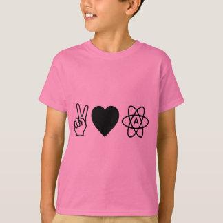 Peace Love Atheism Shirt