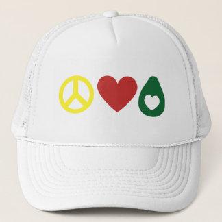 Peace, Love Avocado Hat