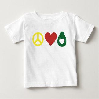 Peace, Love, Avocado Toddler Shirt