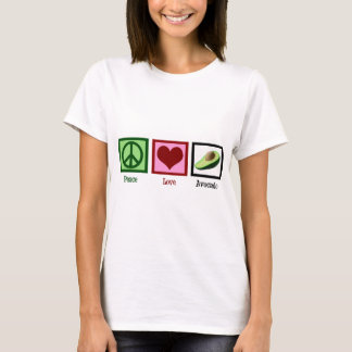 Peace Love Avocado Women's T-Shirt