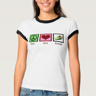 Peace Love Avocados Tee Shirt