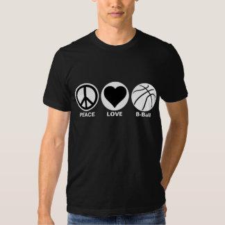 Peace/Love/B-Ball T-Shirt