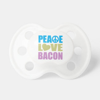 Peace Love Bacon Dummy