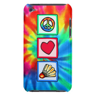 Peace, Love, Badminton Barely There iPod Case