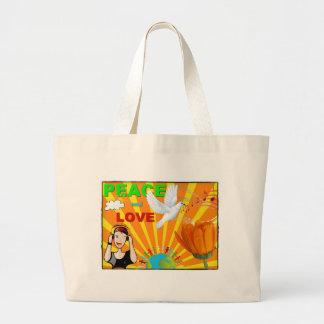 Peace & Love Bags