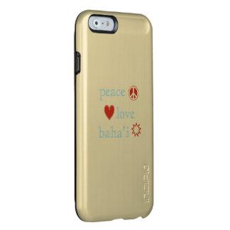 Peace Love Bahai Incipio Feather® Shine iPhone 6 Case