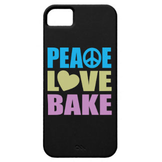 Peace Love Bake iPhone 5 Covers