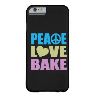 Peace Love Bake Barely There iPhone 6 Case