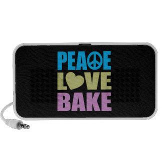 Peace Love Bake Portable Speaker