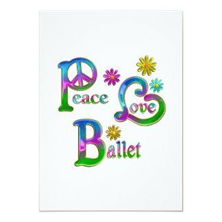 Peace Love Ballet Announcement