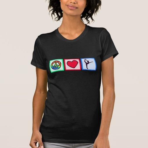 Peace, Love, Ballet Tee Shirts