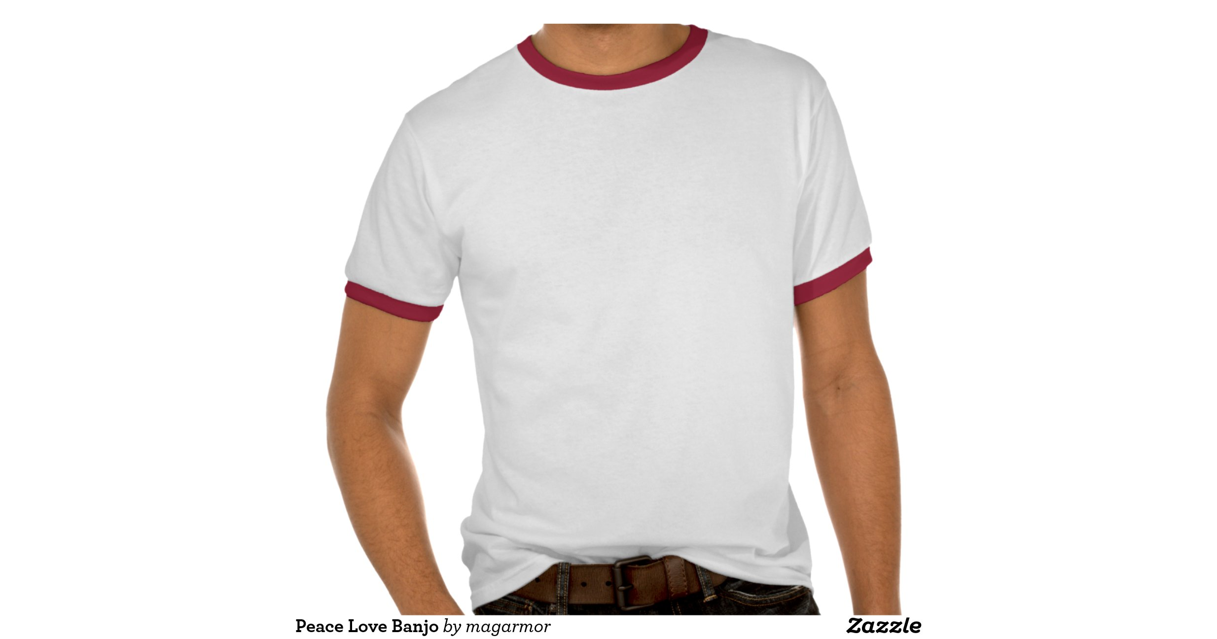 Peace Love Banjo Tee Shirts Zazzle