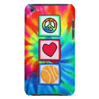 Peace, Love, Basketball Barely There iPod Cover