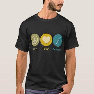 Peace Love Bassoon T-Shirt
