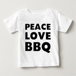Peace Love BBQ Baby T-Shirt