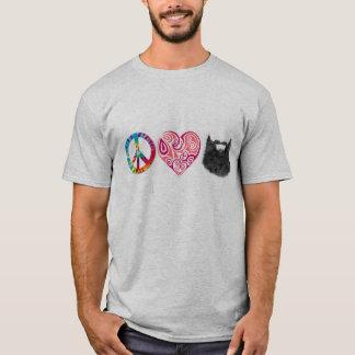 Peace Love Beards T-Shirt