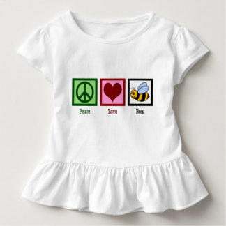Peace Love Bees Toddler T-Shirt
