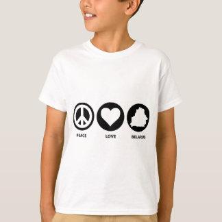 Peace Love Belarus T-Shirt