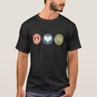 Peace Love Bike, Color pallette 6 T-Shirt