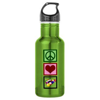 Peace Love Billiards 532 Ml Water Bottle