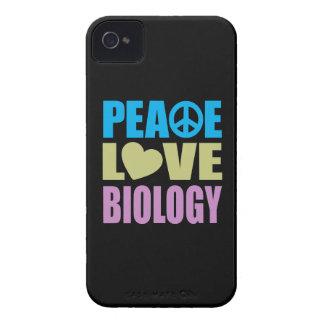 Peace Love Biology iPhone 4 Case