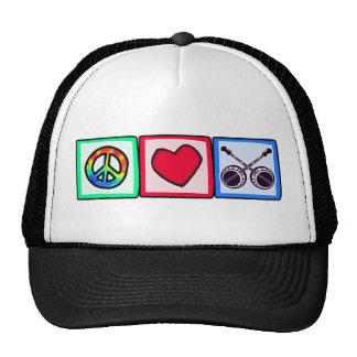 Peace, Love, Bluegrass Cap