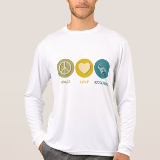 Peace Love Bookkeeping T-Shirt