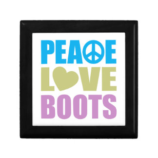 Peace Love Boots Gift Boxes