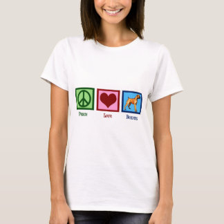 Peace Love Boxers T-Shirt