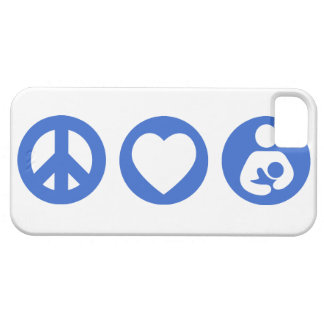 Peace Love Breastfeeding Case For The iPhone 5
