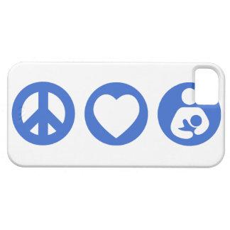 Peace Love Breastfeeding iPhone 5 Cases