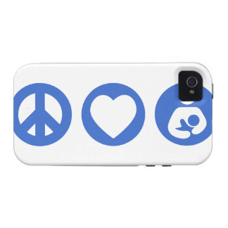 Peace Love Breastfeeding Case-Mate iPhone 4 Cases