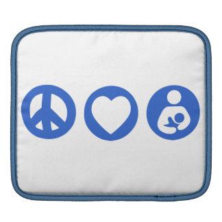 Peace Love Breastfeeding Sleeve For iPads