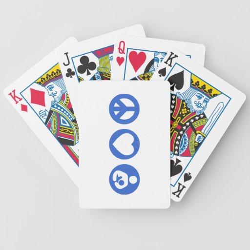 Peace Love Breastfeeding Deck Of Cards